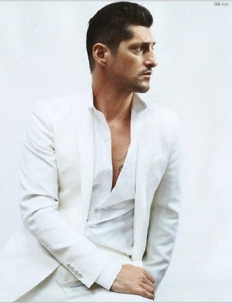 "Tony Ward u belom za jesenji ""GQ Style Italia"""