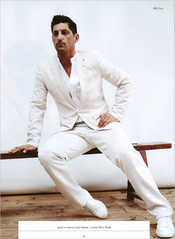 tonyward41 Tony Ward u belom za jesenji GQ Style Italia