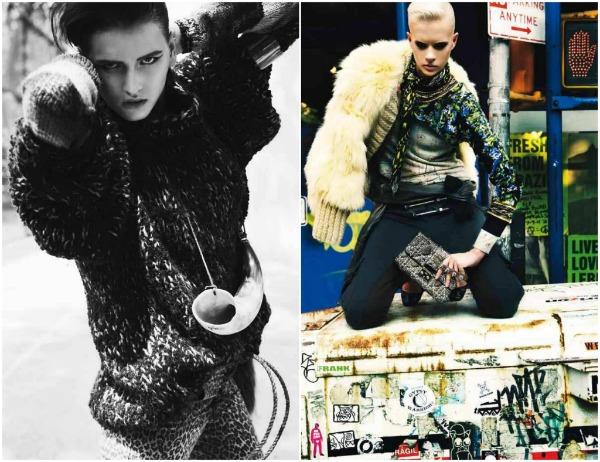 x Prošetajte divljom stranom uz Vogue Deutsch   novembar 2011.