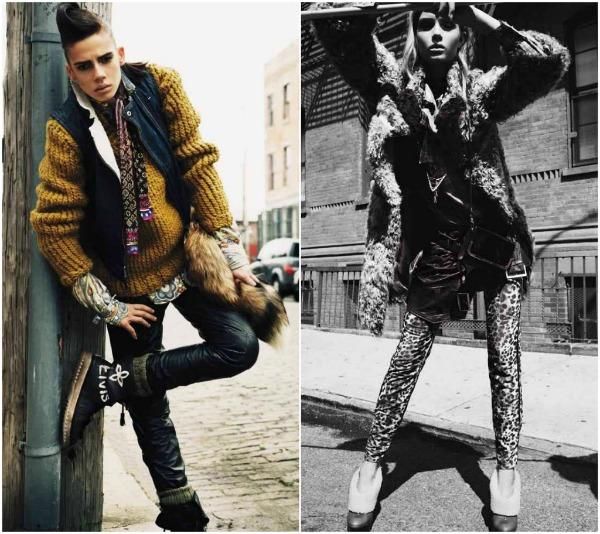 xxxx Prošetajte divljom stranom uz Vogue Deutsch   novembar 2011.
