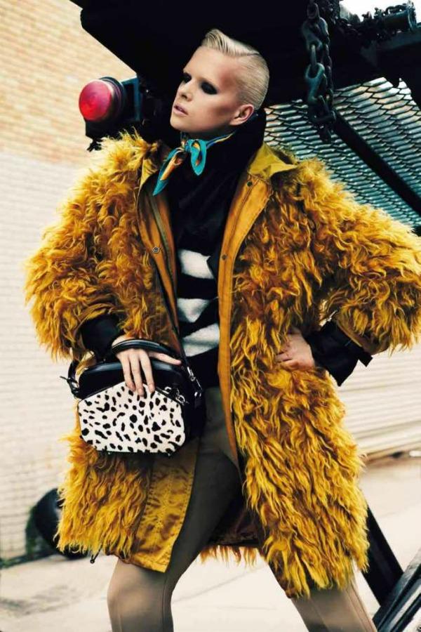 xxxxx Prošetajte divljom stranom uz Vogue Deutsch   novembar 2011.