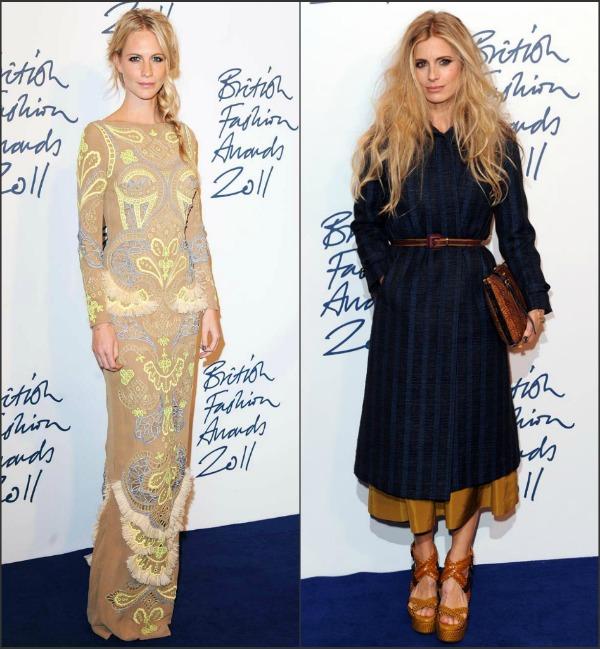 zzzzzzzz3 Fashion Police: British Fashion Awards 2011.