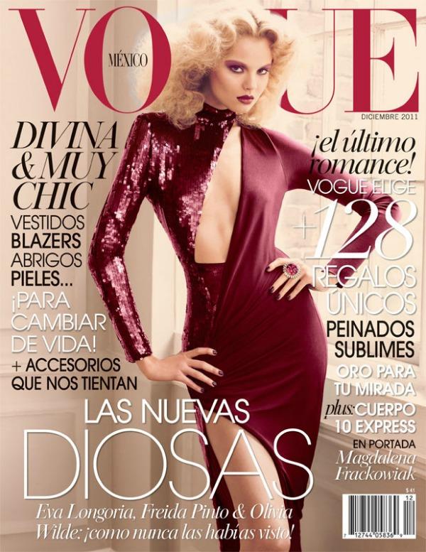 00 Magdalena Frackowiak za Vogue Mexico   decembar 2011.
