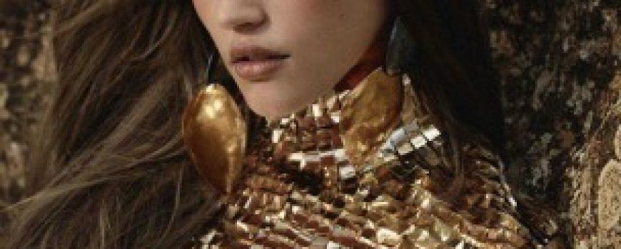 """Zlatna groznica: Daria Pleggenkuhle za """"Harper's Bazaar UK"""""""