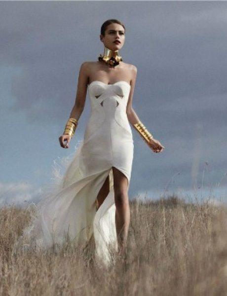 """Zov divljine: Daria Pleggenkuhle za """"Harper's Bazaar UK"""""""