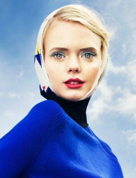 "Sunce i sneg: Isa Asklof za ""Elle Ukraine"""