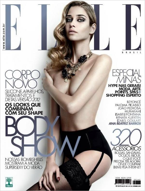 09 AnaBrasil09 Godina kroz naslovnice: Magazin ELLE