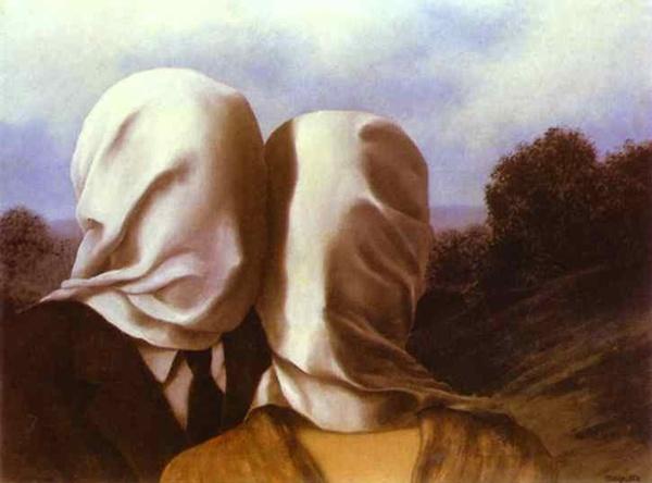 1. The Lovers Slikar nadrealista: René Magritte
