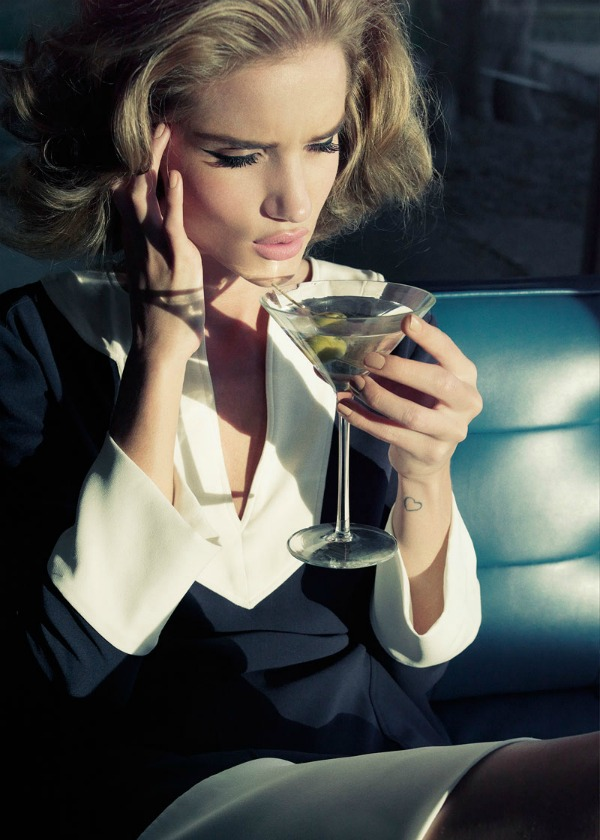 108 Dolina šezdesetih: Rosie Huntington Whiteley za Harper's Bazaar UK