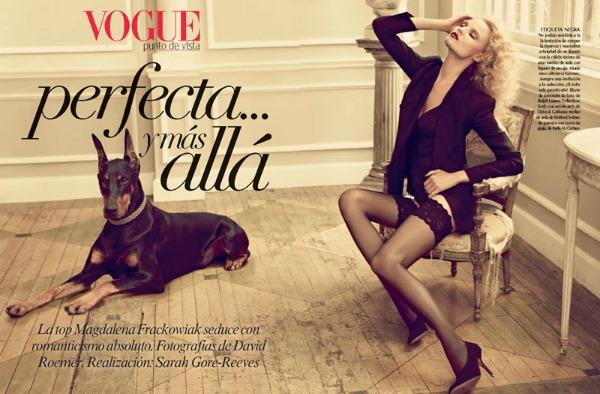 115 Magdalena Frackowiak za Vogue Mexico   decembar 2011.