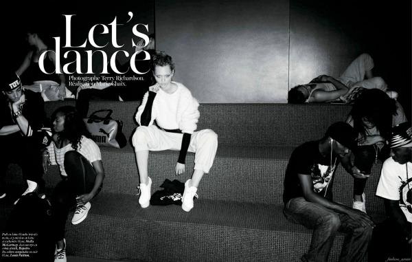 137 Zaplešimo: Sasha Pivovarova za Vogue Paris