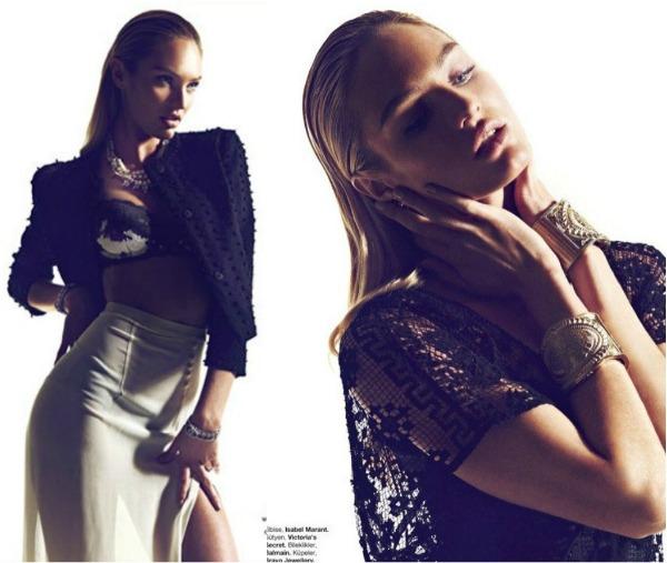 183 Fatalno seksi: Candice Swanepoel za Harpers Bazaar Turkey