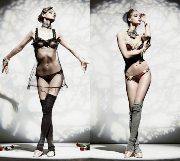 186 John Galliano Underwear: Inspirišite se baletom
