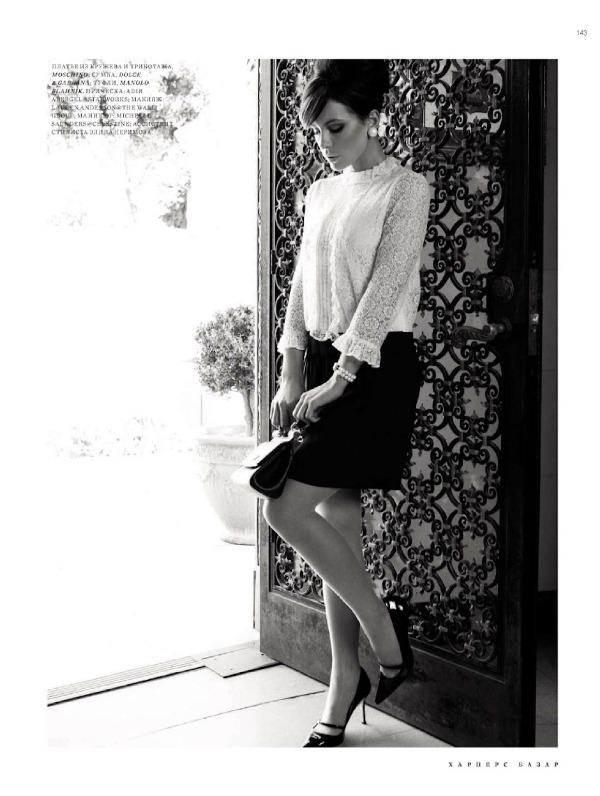 189 Kate Beckinsale za ruski Harpers Bazaar: Besprekorna lepota