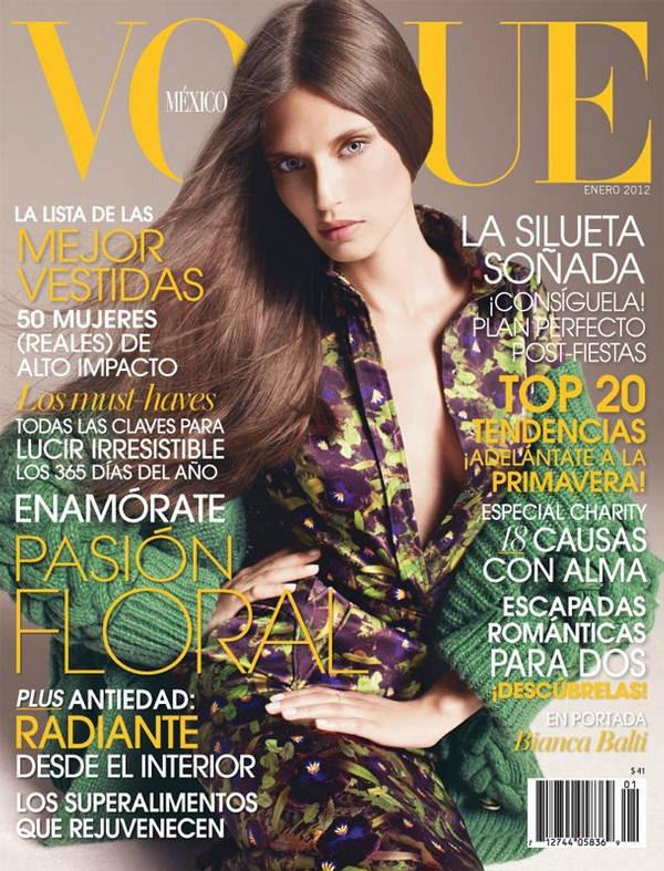 199 Vogue Mexico: Dodir sedamdesetih uz Biancu Balti