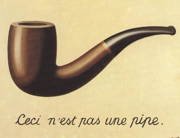 2. Ceci nest pas une pipe Slikar nadrealista: René Magritte
