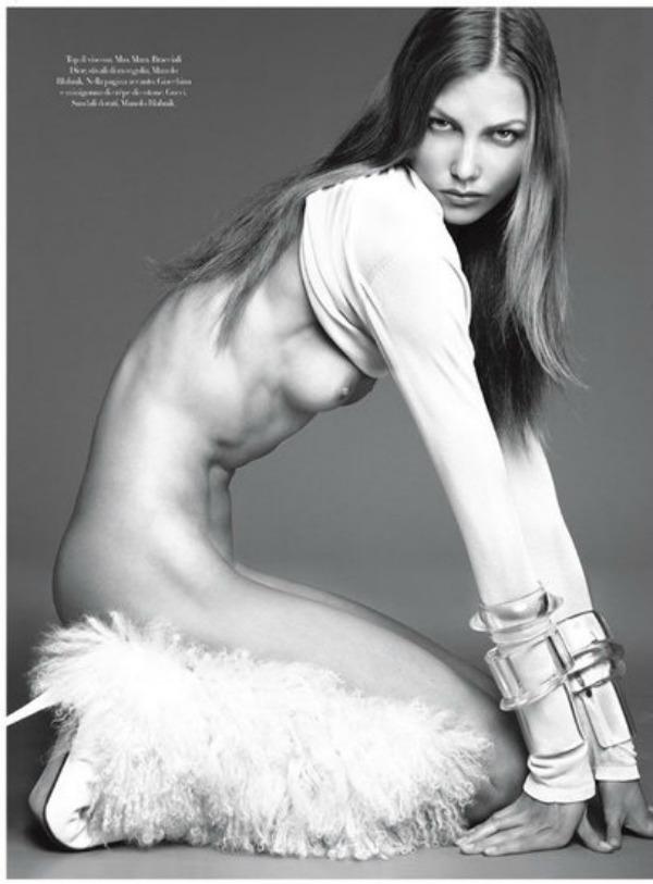 247 Vogue Italia: Zavodljiva Karli