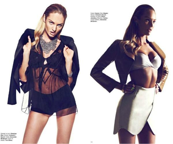 272 Fatalno seksi: Candice Swanepoel za Harpers Bazaar Turkey