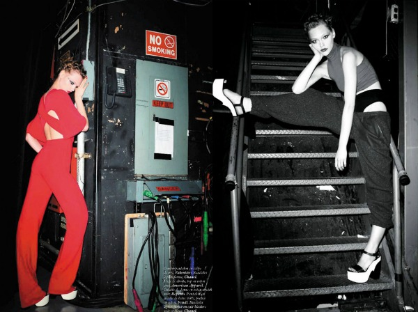 336 Zaplešimo: Sasha Pivovarova za Vogue Paris