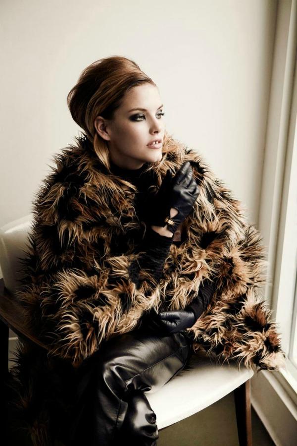 344 Vamp: Ashley Smith za Vogue Mexico