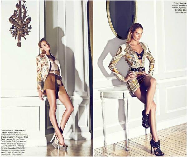 365 Fatalno seksi: Candice Swanepoel za Harpers Bazaar Turkey