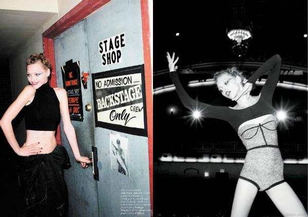 426 Zaplešimo: Sasha Pivovarova za Vogue Paris
