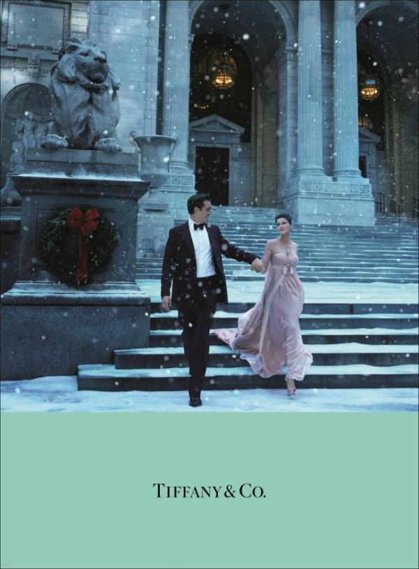 43 Magija praznika: Laetitia Casta za Tiffany & Co