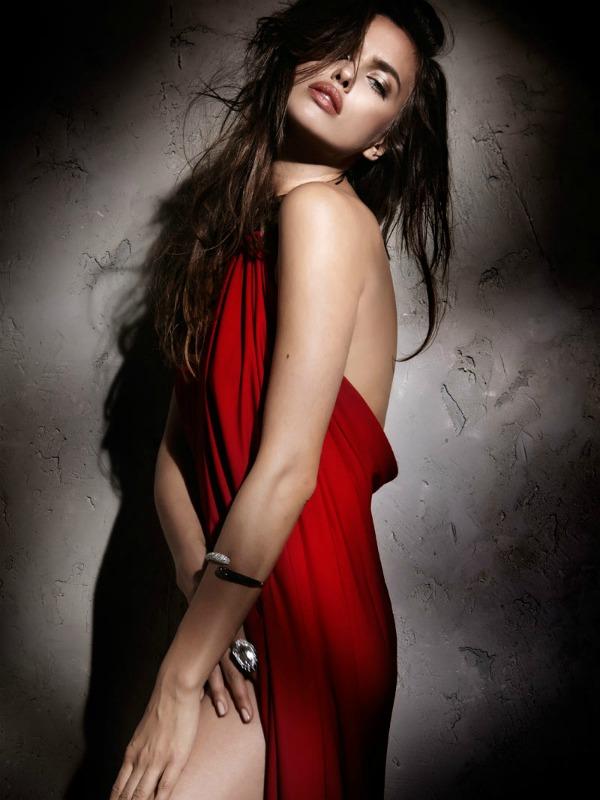 510 Zavodljivost crvene boje: Irina Shayk za Elle Spain