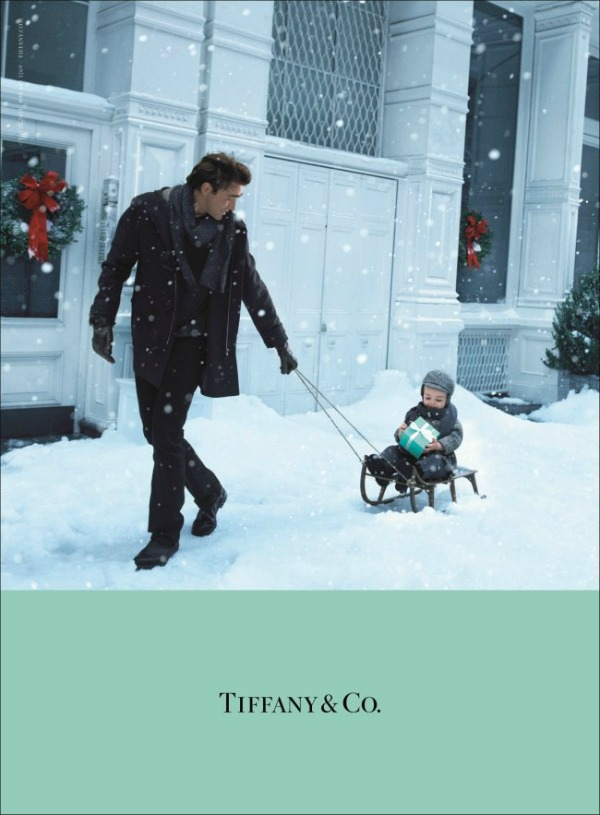52 Magija praznika: Laetitia Casta za Tiffany & Co
