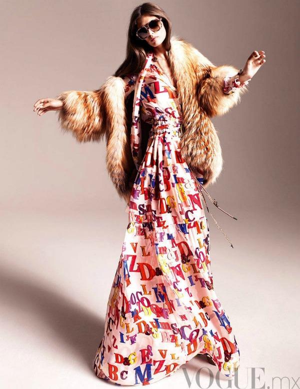 563 Vogue Mexico: Dodir sedamdesetih uz Biancu Balti