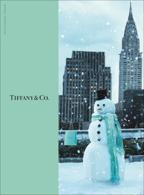 62 Magija praznika: Laetitia Casta za Tiffany & Co