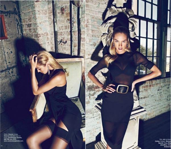 637 Fatalno seksi: Candice Swanepoel za Harpers Bazaar Turkey