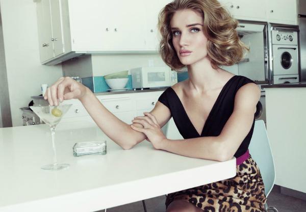 639 Dolina šezdesetih: Rosie Huntington Whiteley za Harper's Bazaar UK