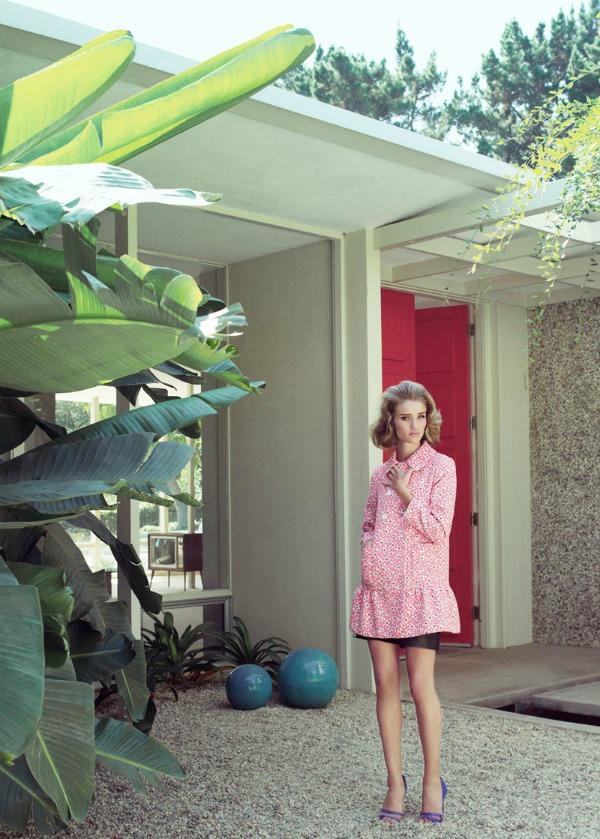 815 Dolina šezdesetih: Rosie Huntington Whiteley za Harper's Bazaar UK