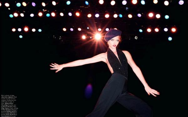95 Zaplešimo: Sasha Pivovarova za Vogue Paris