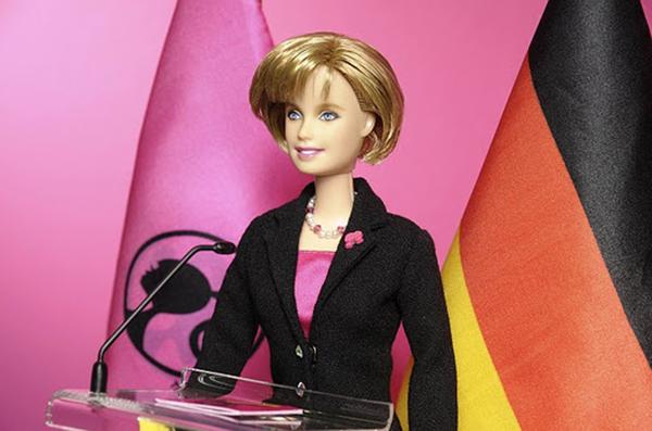 Barbika po liku Angele Merkel Stil moćnih ljudi: Angela Merkel, Gvozdena Endži
