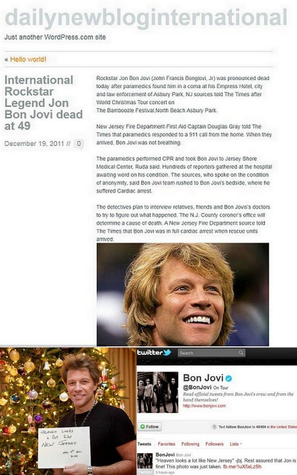 Bon Jovi Trach Up   Blog te ubio!