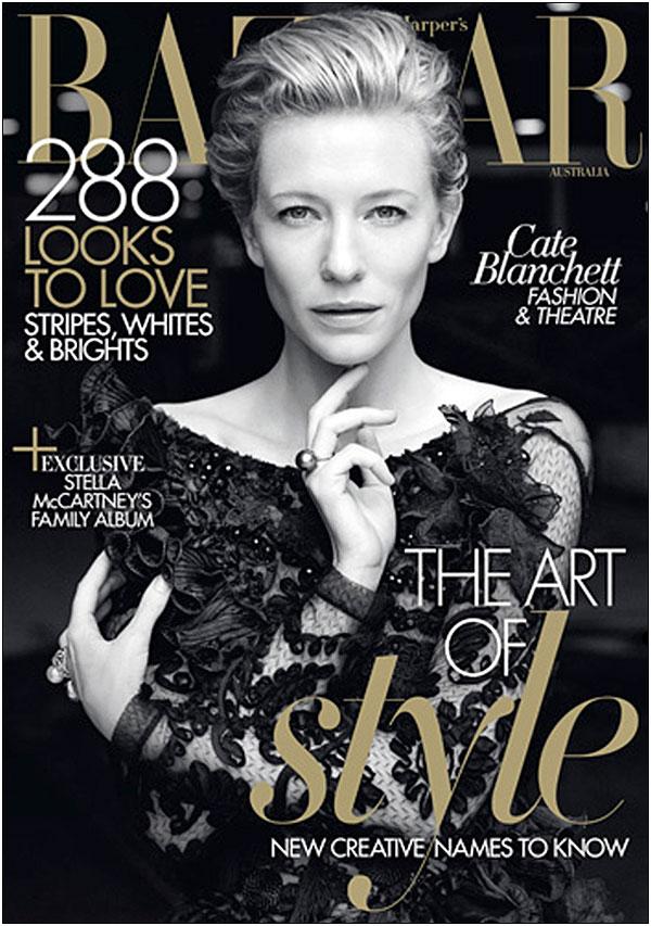 Cate Blanchett Covers Harpers Bazaar Australia May 2011 Godina kroz naslovnice: Harpers Bazaar
