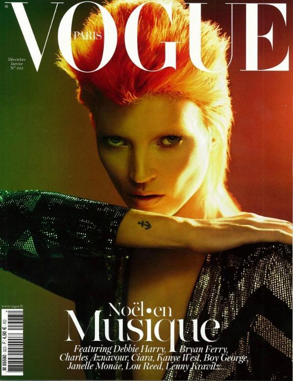 "Decembar Godina kroz naslovnice: Magazin ""Vogue"""