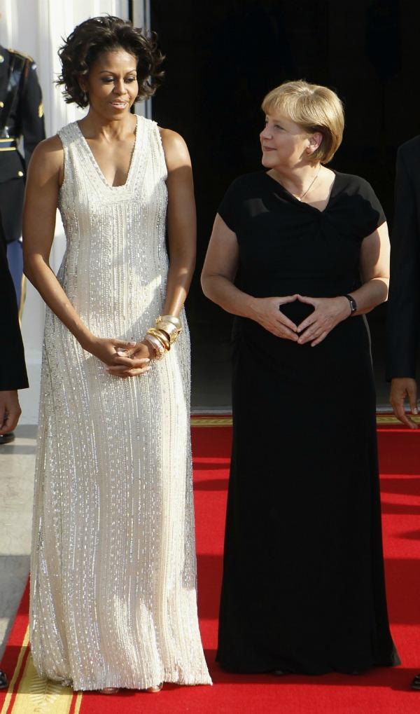 Elegantne Mišel i Endži u Beloj kući1 Stil moćnih ljudi: Angela Merkel, Gvozdena Endži