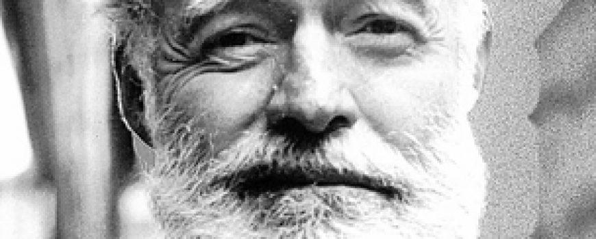"""Starac i more"" – Ernest Hemingway"