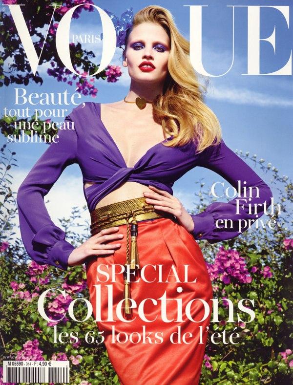 "Februarr Godina kroz naslovnice: Magazin ""Vogue"""