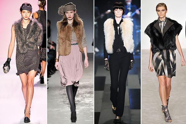 Fur Vest Runway Modni savet Tijane Žunić: Krzno