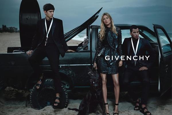 Gisele Bundchen Givenchy Spring Summer 2012 ad campaign Modni zalogaji: Puni novčanici