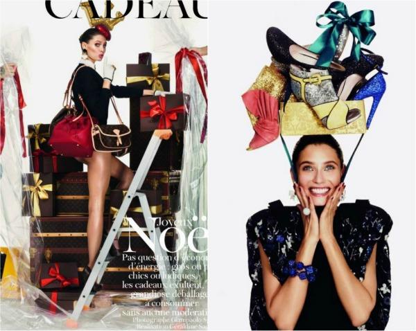 LV MiuMIu Vogue Paris: Srećni praznici