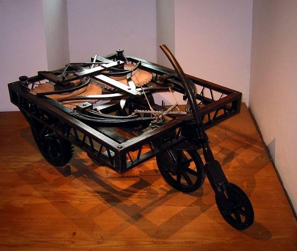 Leonardo da Vinči Automobil Ljudi koji su pomerali granice: Leonardo da Vinci