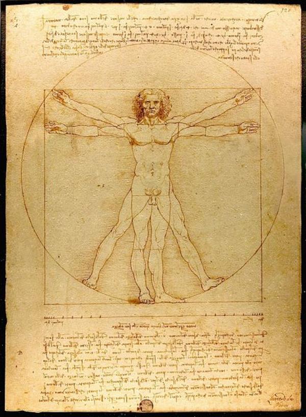 Leonardo da Vinči Vitruvijanski čovek Ljudi koji su pomerali granice: Leonardo da Vinci