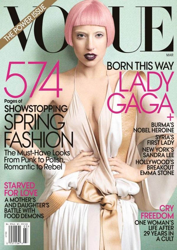 "Mart Godina kroz naslovnice: Magazin ""Vogue"""