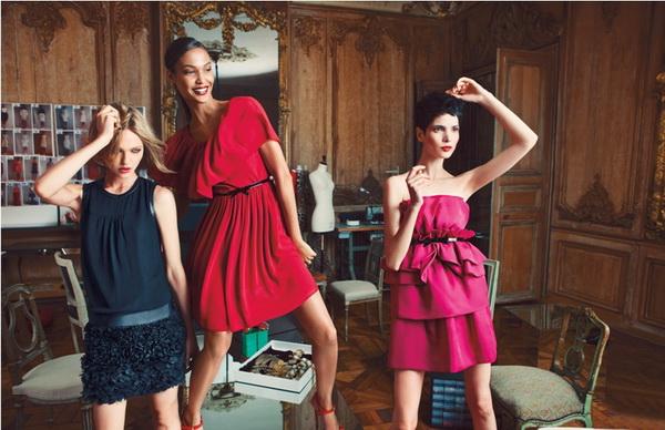 Modeli u Valijevim haljinama izgledaju fantasticno Giambattista Valli za Macy's: Praznična kolekcija