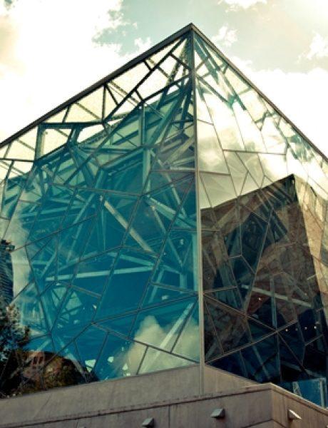 Trk na trg: Federation Square, Melburn